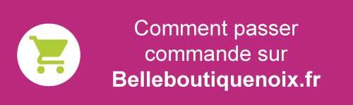 Passer commande et me faire livrer sur Belleboutiquenoix.fr